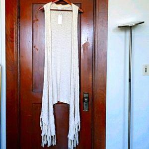 BoHo Maxi Knit Vest